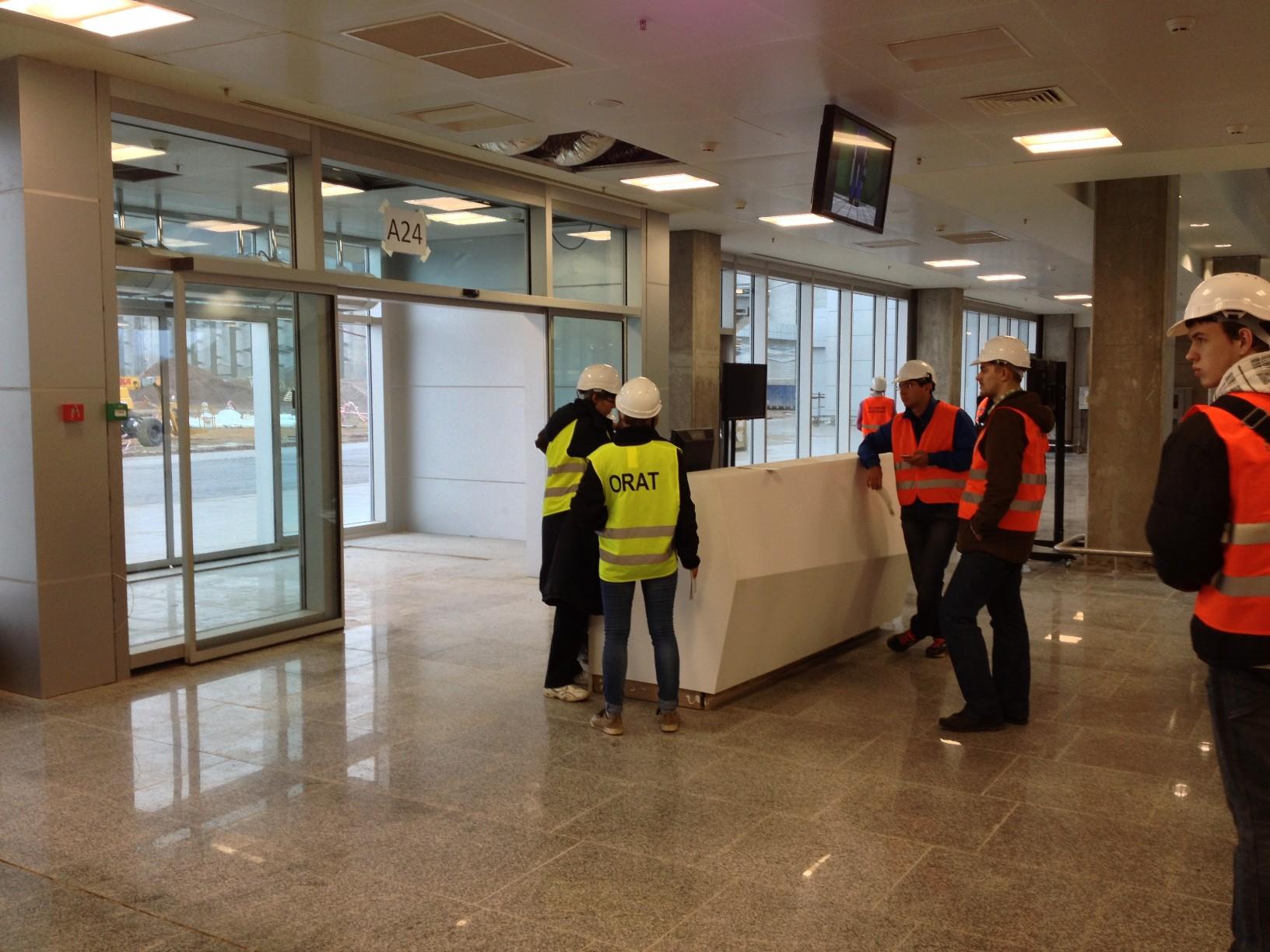 Выход на посадку нового терминала Пулково (Пулково 3)